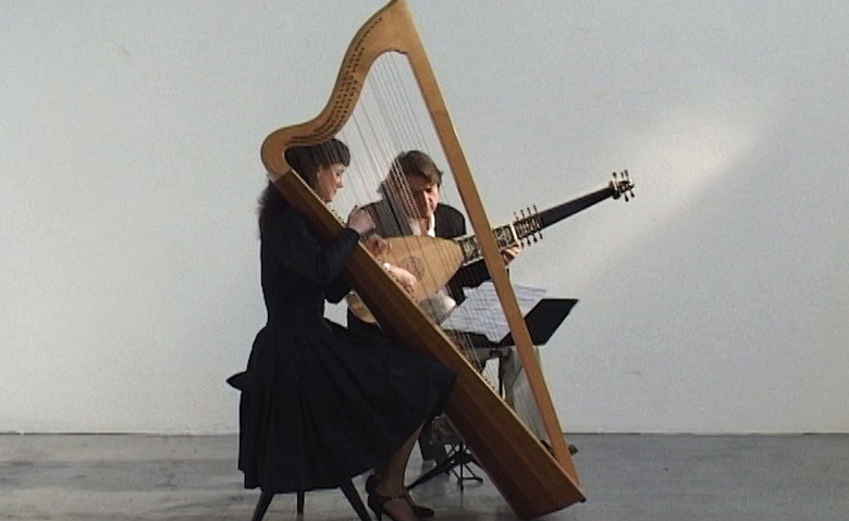 Harp and Lute: Margret Köll & Luca Pianca