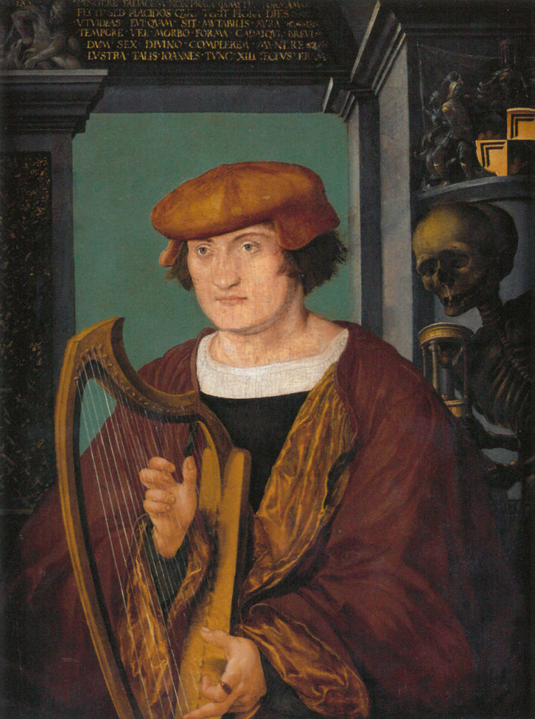 Hans Holbein the Younger (ca.1497-1498), Portrait of Johannes Zimmermann, Germanisches National Museum, Nuremberg, Germany