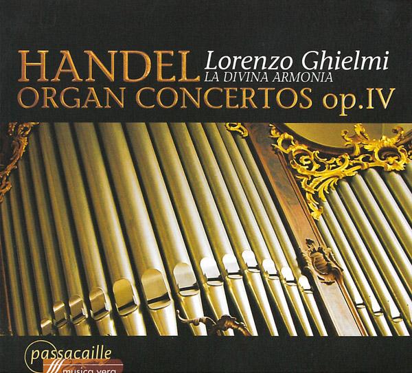 Händel: Organ Concertos Op. IV