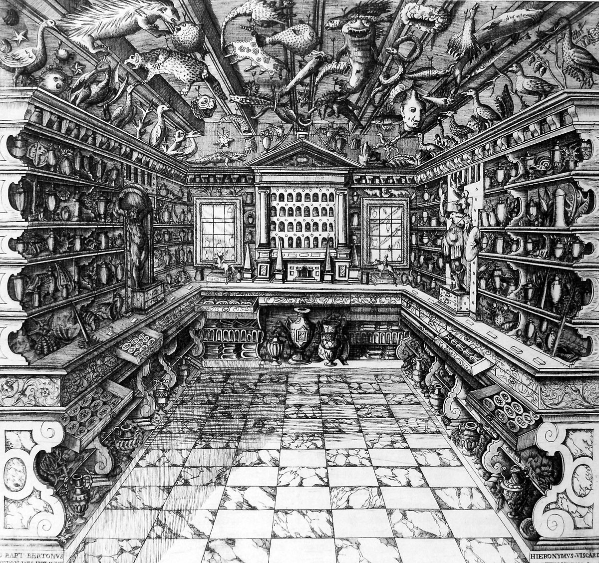 Francesco Calzolari's Cabinet of curiosities